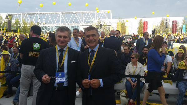 Pecoraro-Scanio e Stefano Massini responsabile nazionale ambiente e territorio Coldiretti
