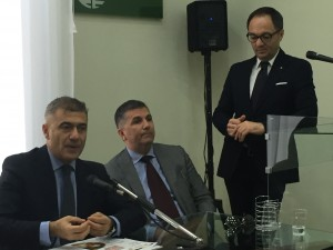 Pecoraro Scanio e Schiavo in conferenza
