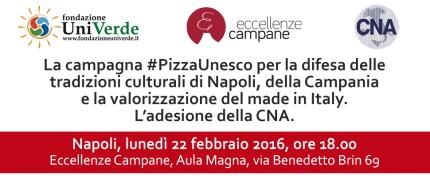 Napoli, 22 febbraio 2016 - #PizzaUnesco CNA