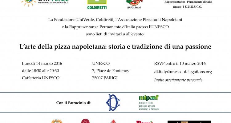 Invito UNESCO - Parigi 14 marzo 2016 - ITA