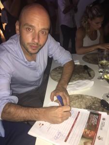 Andrea Dallapè, cugino di Francesca Dallapè per #pizzaUnesco