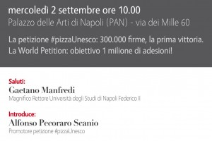 CONVEGNO PIZZA VILLAGE Arte dei Pizzaiuoli Napoletani verso il 58 Bene italiano nella Lista Unesco