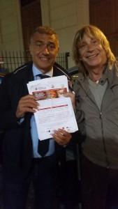 Enzo Paolo Turchi firma la petizione #pizzaUnesco