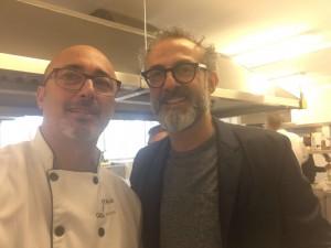 Massimo Bottura con Massimo Biale
