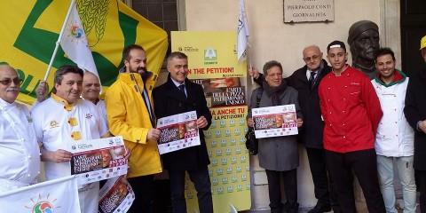 PizzaUnesco con Alfonso Pecoraro Scanio e Coldiretti
