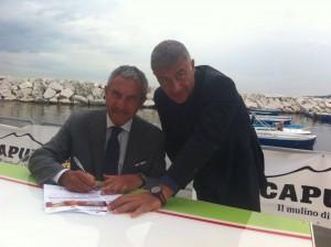 Ambrogio Prezioso firma per #pizzaUnesco