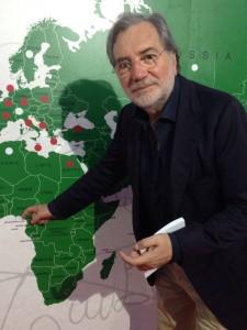 Lino Cutolo CMDO Ciao - Il Pomodoro di Napoli si impegna a portare #pizzaUnesco in Nigeria!