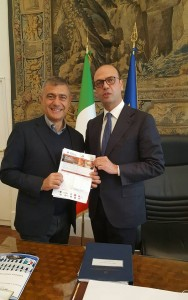 Angelino Alfano Alfonso Pecoraro Scanio Pizza Unesco