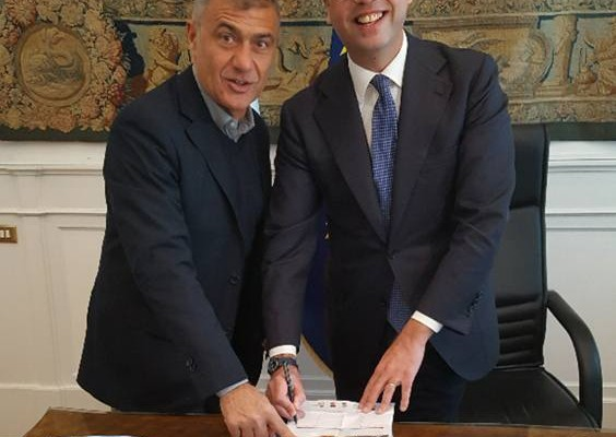 Angelino Alfano Alfonso Pecoraro Scanio