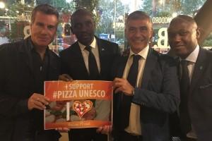 Alfonso Pecoraro Scanio e Jimmy Ghione con rappresentanti corpi diplomatici africani