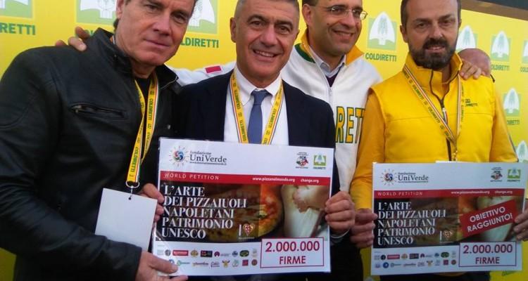 #pizzaUnesco 2 milioni di firme