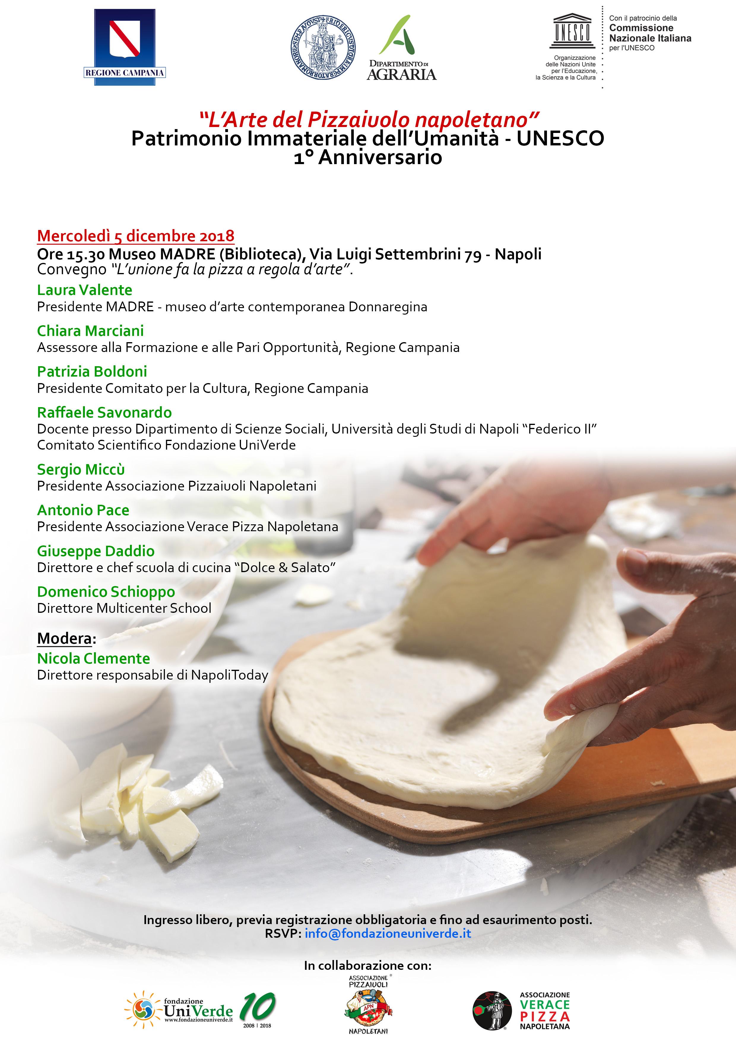 Programma Napoli, Museo MADRE, 5 dicembre 2018